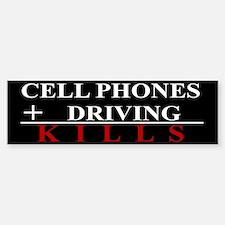 Cell Phones KillBumper Bumper Sticker