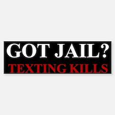 Got Jail? Bumper Bumper Sticker