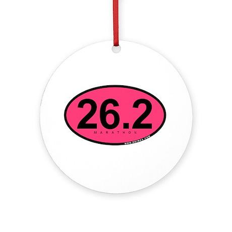 26.2 Marathon Ornament (Round)