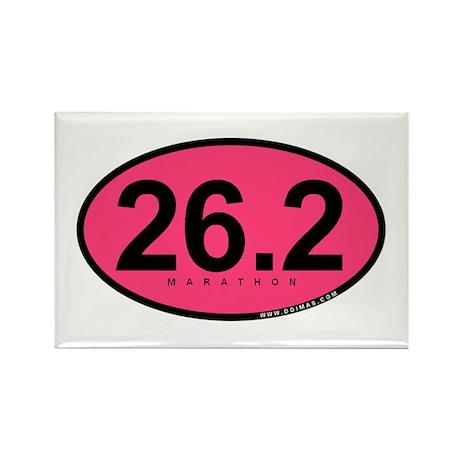 26.2 Marathon Rectangle Magnet (10 pack)