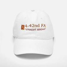 4th Bn 42nd FA Baseball Baseball Cap