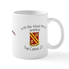 4th Bn 42nd FA Mug
