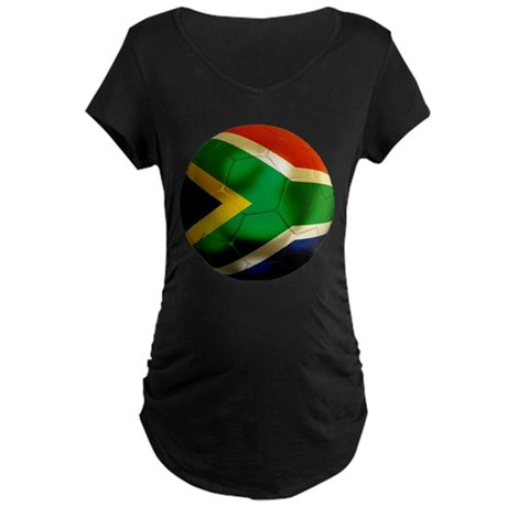South Africa World Cup Maternity Dark T-Shirt