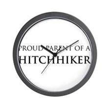 Proud Parent: Hitchhiker Wall Clock