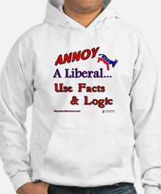 Annoy A Liberal Hoodie