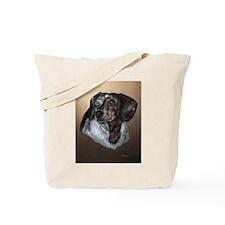 Dapple Dachshund Tote Bag