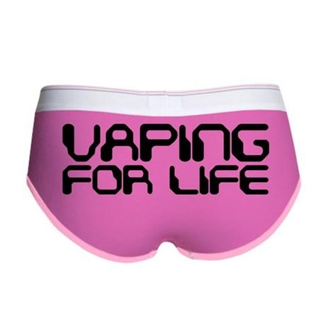 Vaping for Life Women's Boy Brief