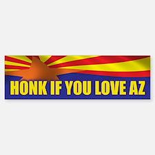 Honk for Arizona Sticker (Bumper)