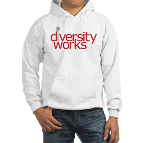 Diversity Works Hooded Sweatshirt