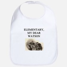 sherlok holmes gifts t-shirts Bib
