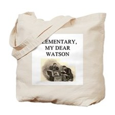 sherlok holmes gifts t-shirts Tote Bag