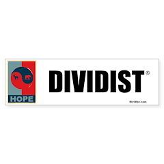 Divided Government Bumper Sticker