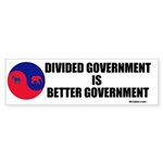 Divided Government Sticker (Bumper 50 pk)