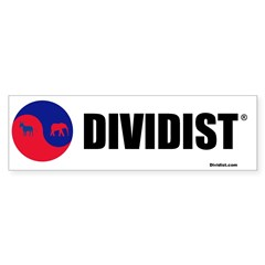 Divided Government Bumper Sticker