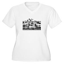 Galaxidi, Greece - illustrati T-Shirt