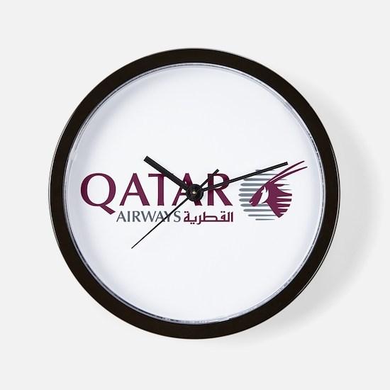 Qatar Airways Wall Clock
