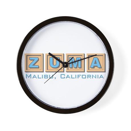 Zuma Beach Ca Wall Clock 1