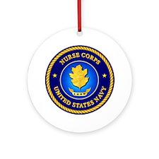 Navy Nurse Corps Ornament (Round)