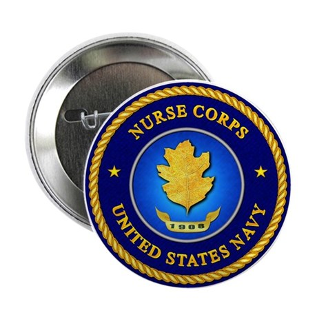 "Navy Nurse Corps 2.25"" Button (10 pack)"