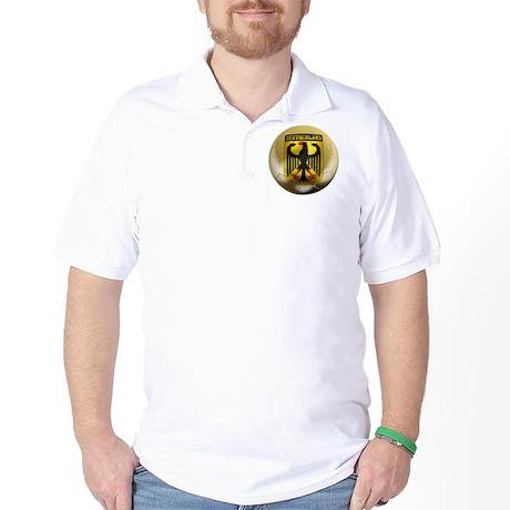 Deutschland Football Golf Shirt