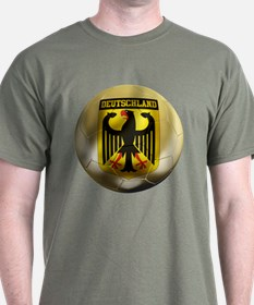 Deutschland Football T-Shirt