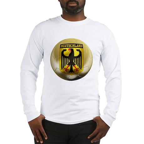 Deutschland Football Long Sleeve T-Shirt