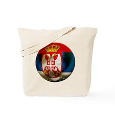 Serbia Football Tote Bag