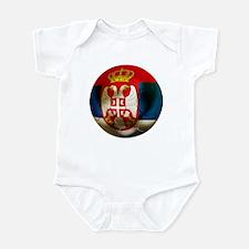 Serbia Football Infant Bodysuit