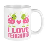 Ladybug I Love Teaching Mug