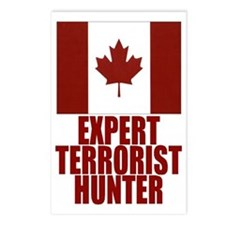 CANADA-EXPERT TERRORIST HUNTER Postcards (Package