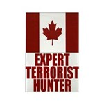 CANADA-EXPERT TERRORIST HUNTER Rectangle Magnet (1