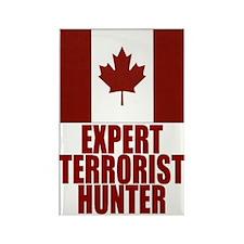 CANADA-EXPERT TERRORIST HUNTER Rectangle Magnet (1