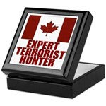 CANADA-EXPERT TERRORIST HUNTER Keepsake Box