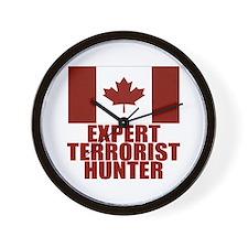 CANADA-EXPERT TERRORIST HUNTER Wall Clock
