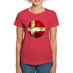 Denmark Football Tee