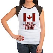CANADA-EXPERT TERRORIST HUNTER Women's Cap Sleeve