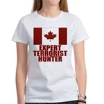 CANADA-EXPERT TERRORIST HUNTER Women's T-Shirt