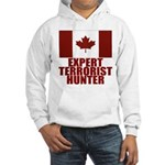 CANADA-EXPERT TERRORIST HUNTER Hooded Sweatshirt