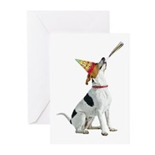 English Foxhound Birthday Greeting Cards (Pk of 20