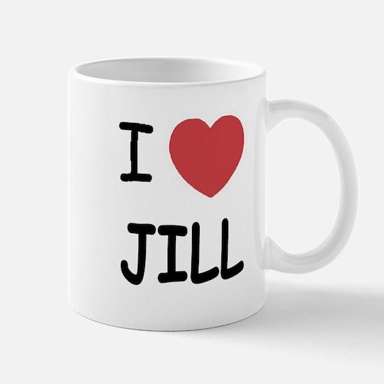 I heart Jill Mug