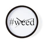 #weed Wall Clock