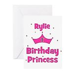 1st Birthday Princess Rylie! Greeting Cards (Pk of