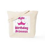 1st Birthday Princess Rylie! Tote Bag