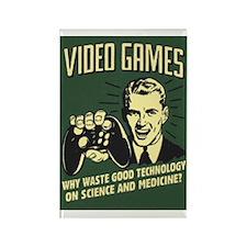 Videogames Rectangle Magnet
