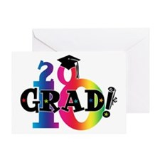 Star Grad 2010 Greeting Card