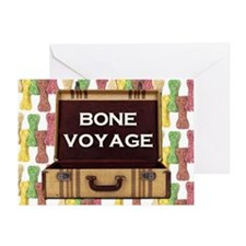 Bone Voyage Greeting Card