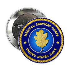 Navy Dental Corps Button
