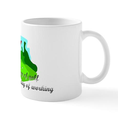 A bad day of golf.... Mug