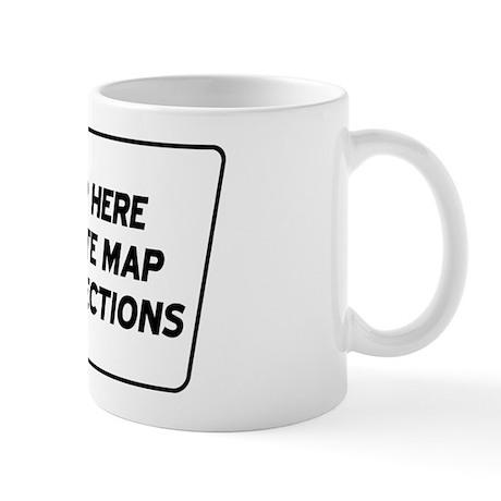 Site Map Web Mug