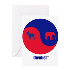 Dividist Greeting Card